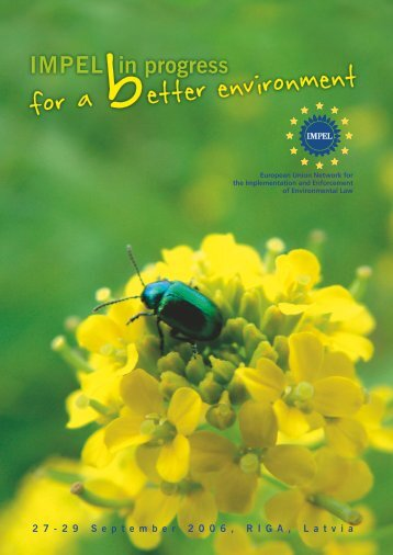 for a better environment - IMPEL