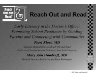 Reach Out and Read - Miko Group, Inc.
