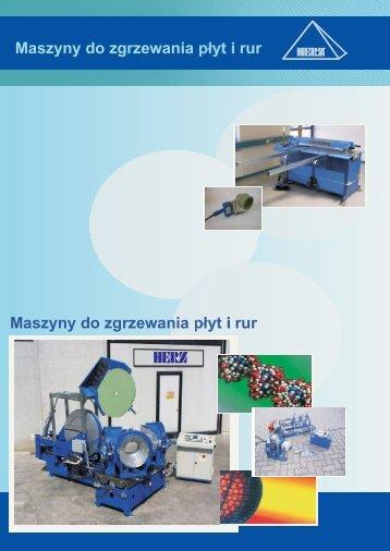 Maszyny do zgrzewania płyt i rur - Herz Polska Sp. z o.o.