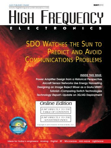 High Frequency Electronics - May 2010 Online Edition