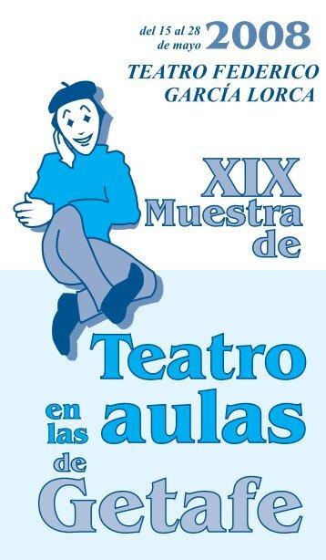 Teatro 2008 - Ayuntamiento de Getafe
