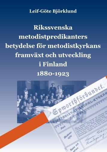 Rikssvenska metodistpredikanters betydelse för ... - Doria