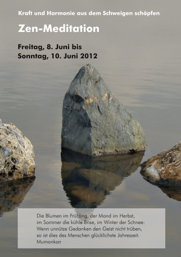 Zen-Meditation - Herzberg