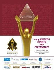 J1430-ABA05 Program - the Stevie Awards