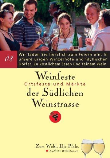 Weinfeste der Südlichen Weinstrasse