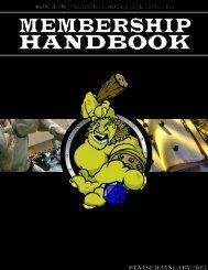 OGREs Membership Handbook 7th Edition, January ... - nocookie.net