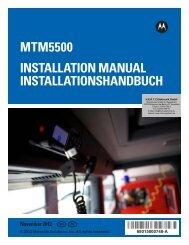 MTM5500 Installation Manual –  EN, DE - HERTZ Elektronik GmbH