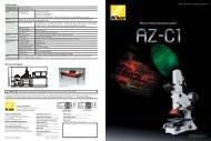 Macro confocal microscope system - Nikon Instruments