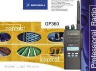 Bedienungsanleitung standard GP360 (deutsch) - HERTZ Elektronik ...
