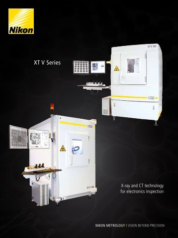 XT V Series - Nikon Metrology