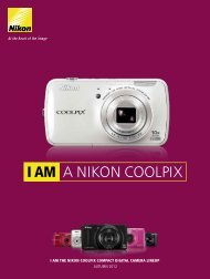 I AM A NIKON COOLPIX - Nikon Europe