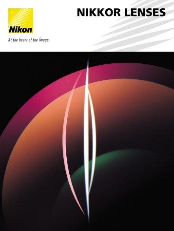 NIKKOR LENSES - Nikon Europe