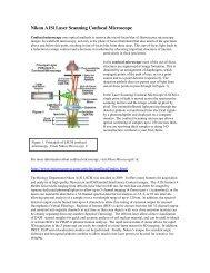 Nikon A1Si Laser Scanning Confocal Microscope - Biology ...