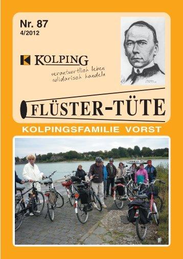 Fluester-Tuete 87 - Kolpingsfamilie Vorst