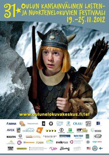 Festivaalin käsiohjelma | festival brochure 2012 - Oulun ...