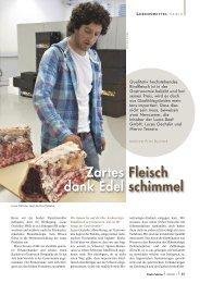Zartes Fleisch dank Edel schimmel - Pauli Cuisine