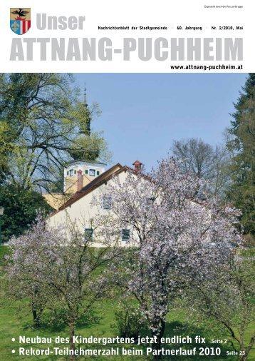 Ausgabe März-April-Mai 2010 (3,01 MB - Attnang-Puchheim