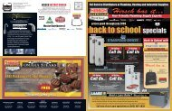 back to school specials - Hirsch Pipe & Supply, Inc.