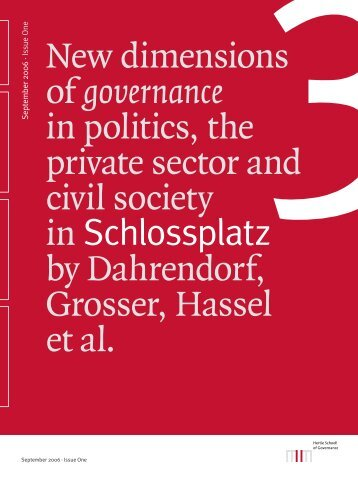 SP3 Nr. 1 - Hertie School of Governance