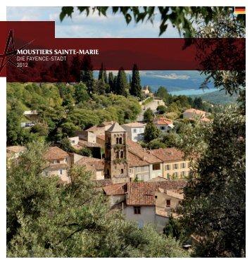 historischer - Office de tourisme Moustiers Sainte-Marie