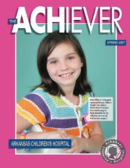 Pediatric Health Care - Arkansas Children's Hospital