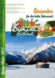 Gesundes - Biokistl Südtirol