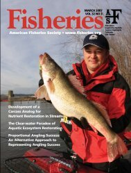 Fisheries Volume 32 No. 3 - American Fisheries Society