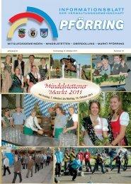Informationsblatt-2011-10 - Markt Pförring