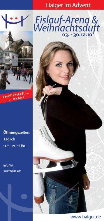 Eislauf-Arena & Weihnachtsduft - in Haiger