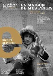 Dossier de presse - Le Théâtre en Cavale