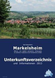 verzeichnis als PDF - Markelsheim