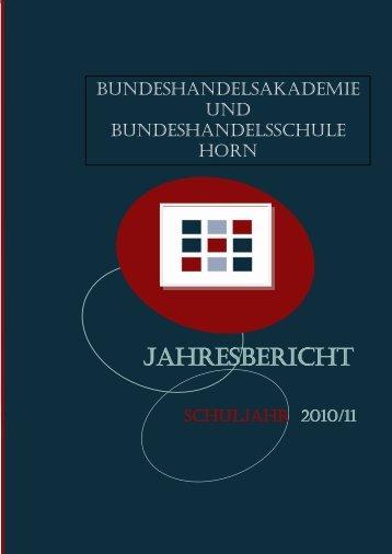 JAHRESBERICHT - HAK-HAS Horn