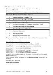 Nr. 2 Die Wahlleiterin des Landkreises Donau-Ries - Monheim