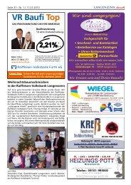Ausgabe Nr. 01 vom 11.01.2013 Seite 31 - Langenzenn