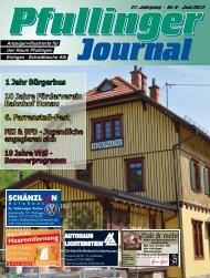 Juni - beim Pfullinger Journal