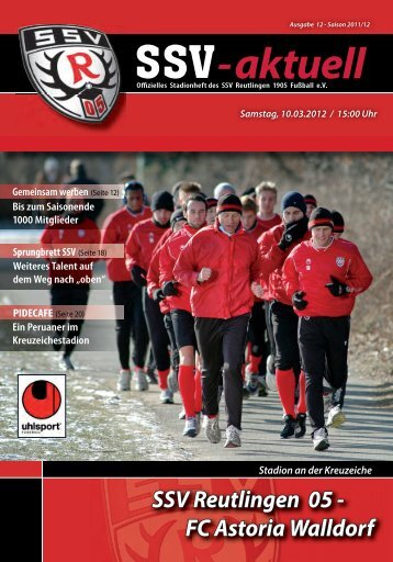Stadionheft - SSV 05