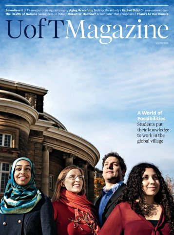 A World of Possibilities - University of Toronto Magazine