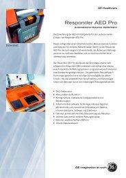 Prospekt GE Responder AED Pro