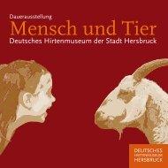 Dauerausstellung Mensch und Tier - Hersbruck