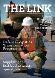 The link - Defence Logistics Magazine - Department of Defence