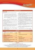 Gyógyhír - 2007/4.sz. - Hungaropharma ZRt. - Page 3