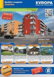 Realitní magazín ZDARMA - EVROPA realitní kancelář
