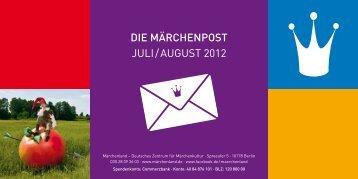 DIE MÄRCHENPOST juli / august 2012 - Märchenland - Deutsches ...
