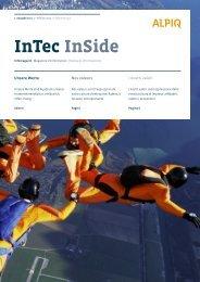 Intec Inside 1/2011 PDF (4.2 MB) - Alpiq Intec Schweiz