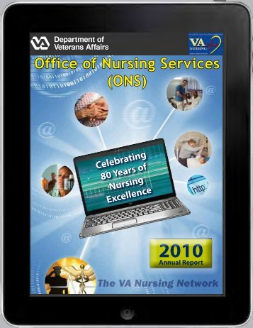 ONS Annual Report 2010 - US Department of Veterans Affairs