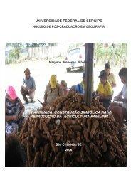 farinhada: construção simbólica na reprodução da agricultura familiar