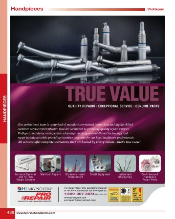 Handpieces - YTS Dental