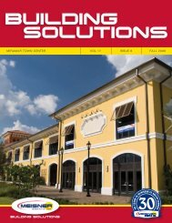 BUILDING SOLUTIONS - Meisner Electric, Inc