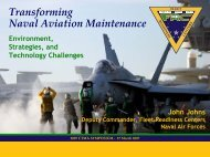 Transforming Naval Aviation Maintenance