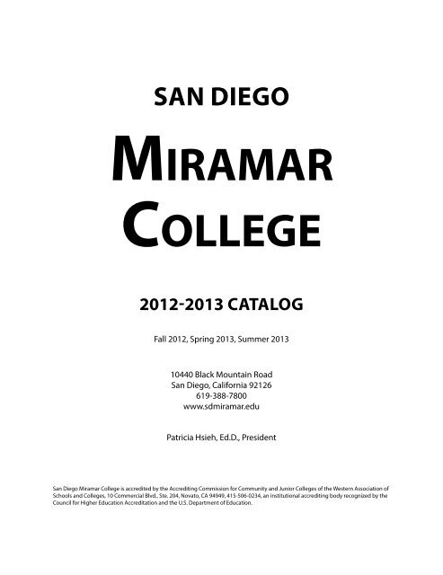 Registration Information | San Diego Community College ...